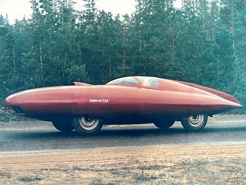 These Soviet Concept Vehicles Are Clearly From An Alternate Universe