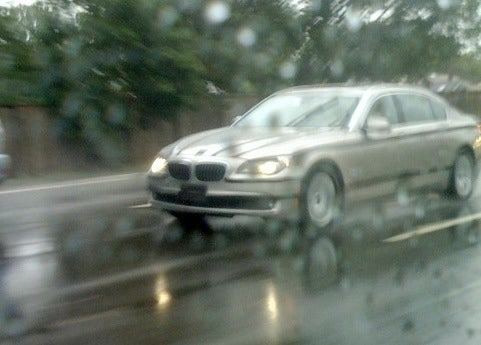 2009 BMW 7-Series Spotted During Wet-Weather Testing