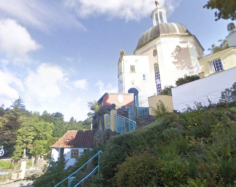 Visit The Village from The Prisoner on Google Maps