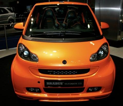 Frankfurt Auto Show: Brabus Ultimate 112 Smart Fortwo