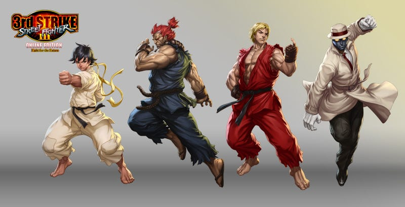 The Beautiful Fighting Game Art of Stanley Lau