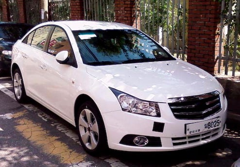 Daewoo-Badged Chevy Cruze For The Korean Market Spotted With Up-Scale Grille