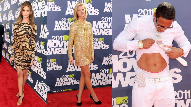 Fashion As Weaponry At MTV Movie Awards