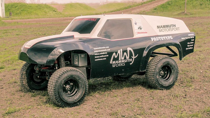 You Could Probably Ride To Work On This Badass 1:3 Scale RC Truck