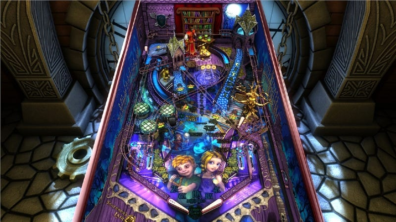 Pinball FX2 Gets Another Table: 'Sorcerer's Lair'