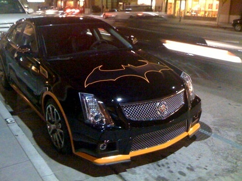 Cadillac CTS-V Batmobile: Quick, To The Country Club!