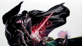 Victor Von Doom goes toe-to-toe with Darth Vader in this amazing Art