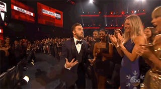 The Only AMAs GIF You Need, Starring Justin Timberlake and Taylor Swift