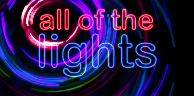 """Kanye West's """"All of the Lights"""" Video is a Love Letter to Typography"""