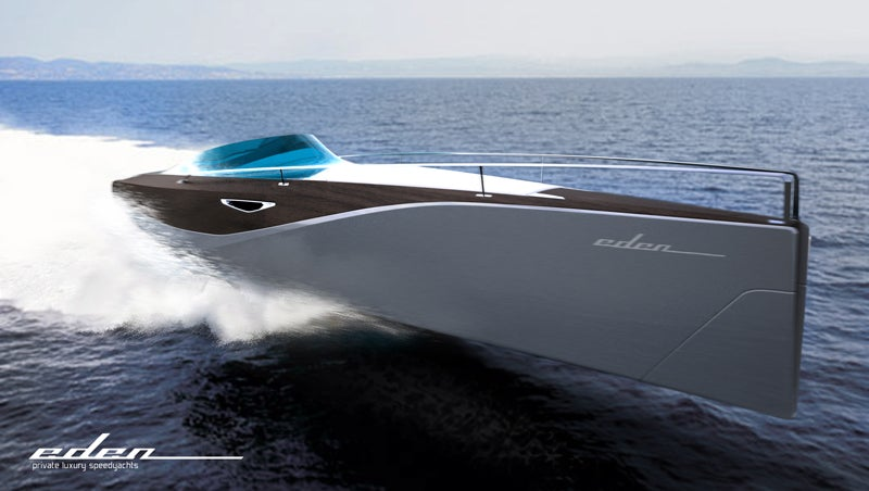 Eden Speedboat Puts the Wood Back in Yachting
