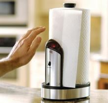 Auto Paper Towel Dispenser Keeps Germs Off Your Lazy, Lazy Hands