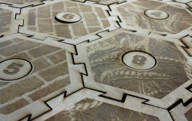 Laser-Cut Yourself a Settlers of Catan Game Set
