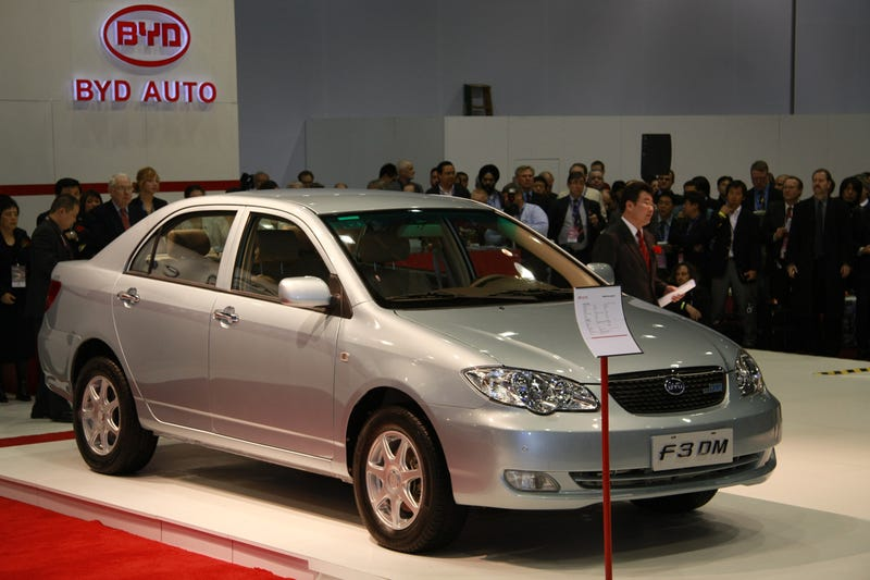 BYD F3DM: The Chinese Volt