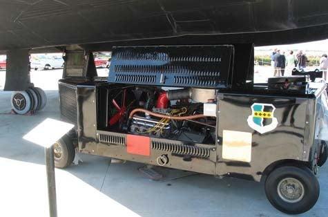 SR-71 Blackbird Start Cart: Nailhead Power!