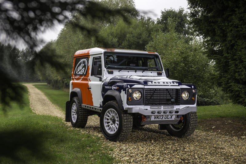 The Defender Challenge By Bowler Is The Best One-Make Rally Series