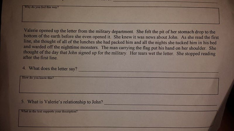 Texas Parents Angered by Fourth-Graders' Bizarre Adult-Themed Homework