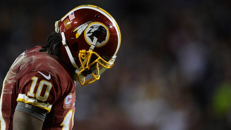 Robert Griffin III Twisted His Knee On A Dead Patch Of Sports Language