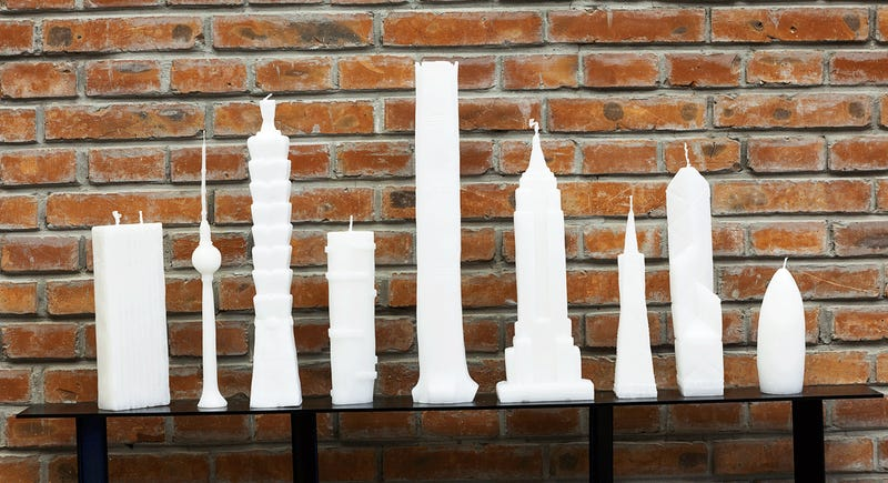 Skyscraper Candles Let You Safely Set the World on Fire