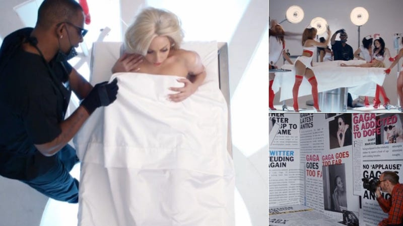 Scenes From Lady Gaga and R. Kelly's Gross Music Video