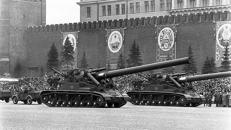 The Soviets Built A Giant Gun That Could Shoot Nukes