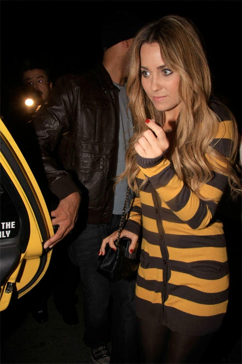 Lauren Conrad _____s Like A Butterfly, Looks Like A Bee