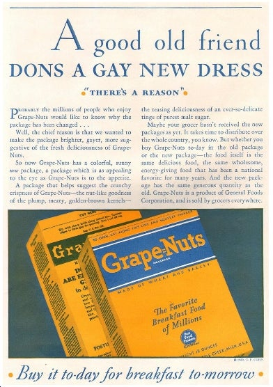 Stupid Americans Eat Grape Nuts