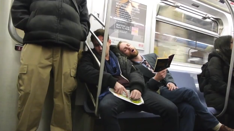 This App Wakes You Up at Your Stop If You Fall Asleep on the Subway