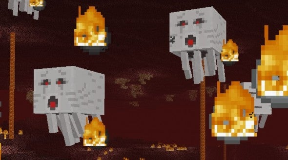 Fight For Your Pixelated Life In The Fantasy-Horror World Of Minecraft