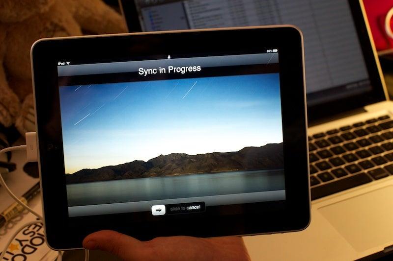 how to set up ipad 4
