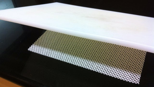 Stabilize Your Cutting Board with Shelf Liner