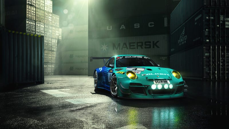 Your Ridiculously Awesome Porsche 911 GT3 R Wallpaper Is Here
