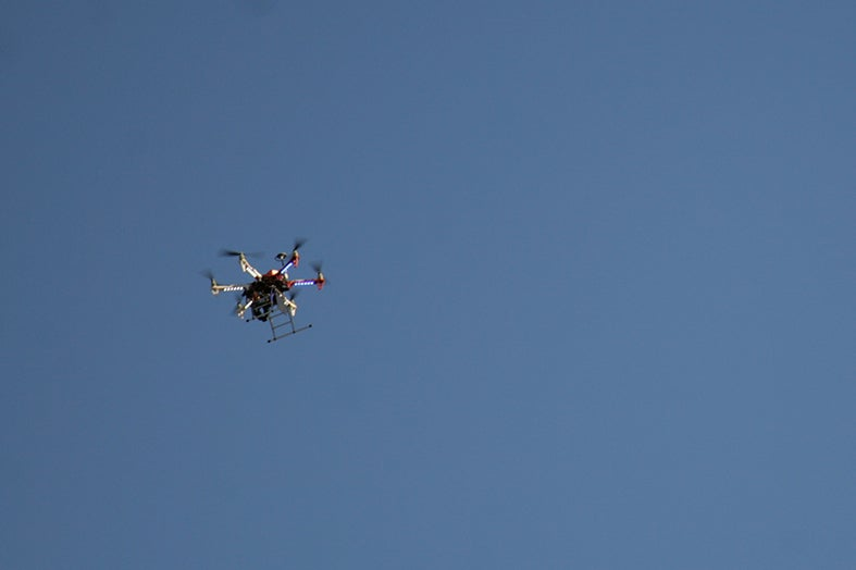 Athlete Struck By Potentially Hacked Aerial Drone