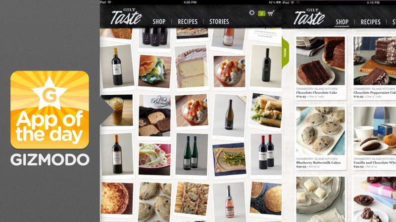 Gilt Taste: Find Gourmet Deals and Recipes