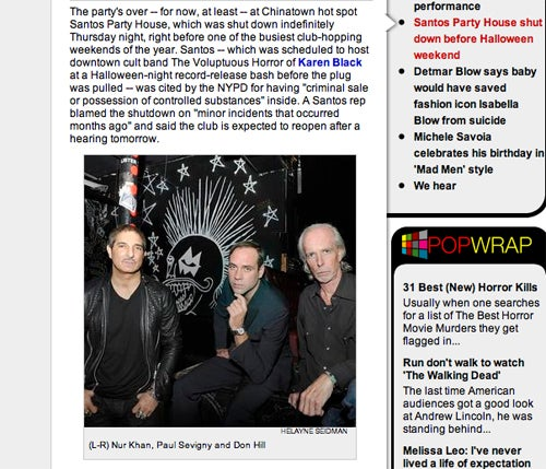 Page Six Gets NYC Nightlife Wrong