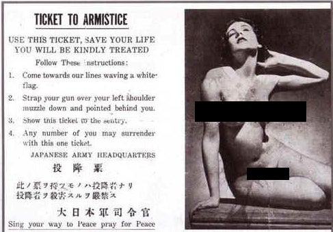 The pornographic psychological warfare campaigns of World War II