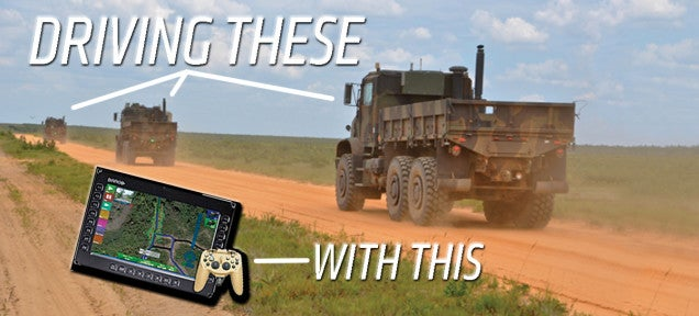 The Army Can Now Drive Their Trucks With This Video Game Controller