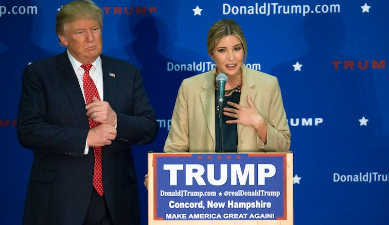 Trump Campaign Floats Ivanka as Vice President