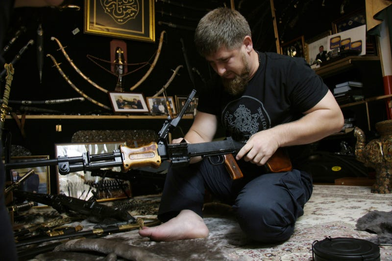 The Chechen President's Guns, Supercars, and $3,000,000 Motorcade