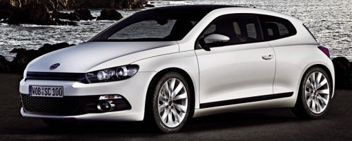 VW Scirocco Breaks Cover Early