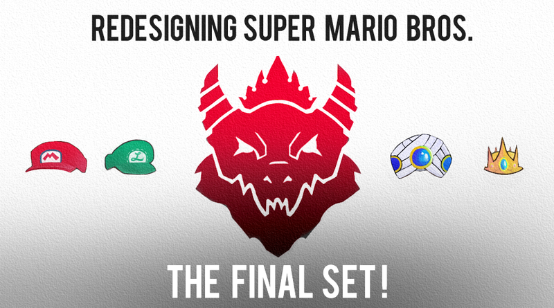 Redesigning Super Mario Bros - Final Set!