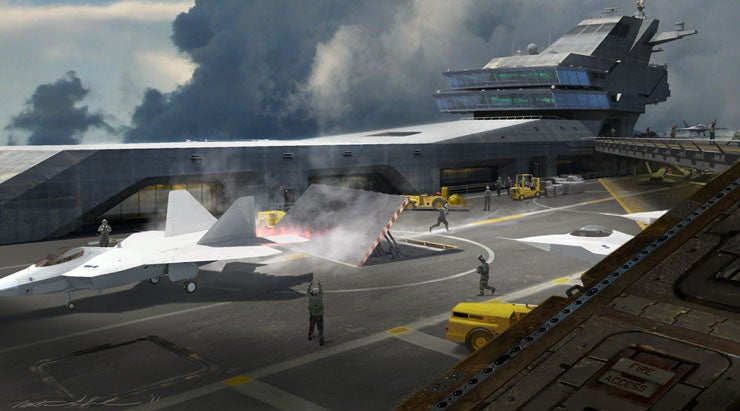 The Concept Art Behind The Avengers