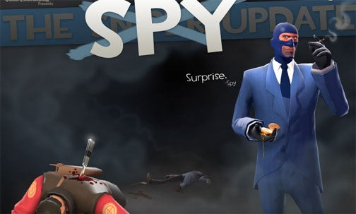 Surprise! Team Fortress 2 Spy Class Is Also Getting An Update