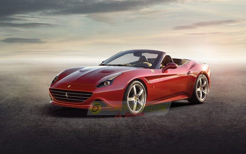 This is the new Ferrari California T