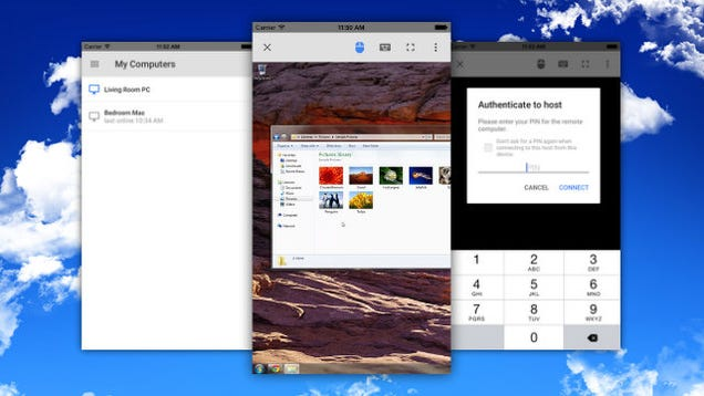 Chrome Remote Desktop Arrives on iOS