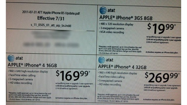 Are Radio Shack and Target Both Dropping iPhone Prices?