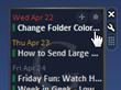 Google Calendar Agenda Puts Your Schedule in the Vista Sidebar