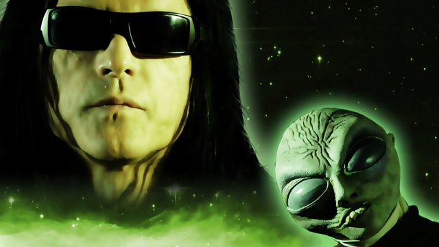 Tommy Wiseau of The Room tantalizes us with cryptic clues about his extraterrestrial video game show