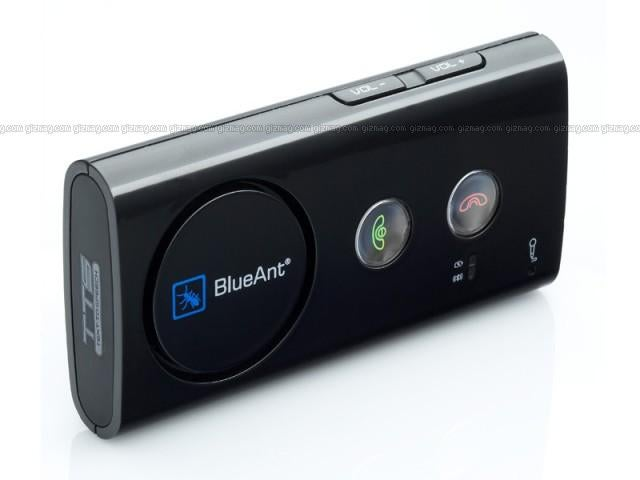 BlueAnt Supertooth 3 Bluetooth Speakerphone Reads Your Caller's Names Aloud