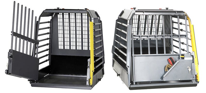 A Dog Cage With Crumple Zones Protects Your Pup During a Car Accident