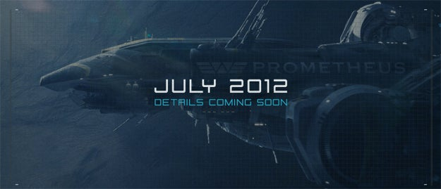 Prometheus: Weyland Industries Recruiting Poster